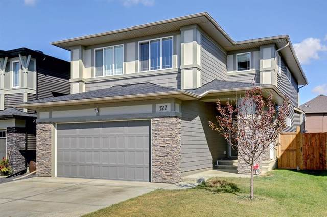 127 Mist Mountain Rise, Okotoks, AB T1S 5P6 (#A1026221) :: Canmore & Banff