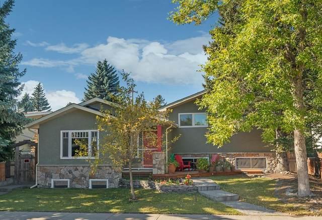 3144 Leduc Crescent SW, Calgary, AB T3E 5W9 (#A1037108) :: Canmore & Banff