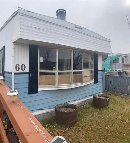 60 Greenwood Villa, Drumheller, AB T0J 0Y2 (#A1042036) :: Calgary Homefinders