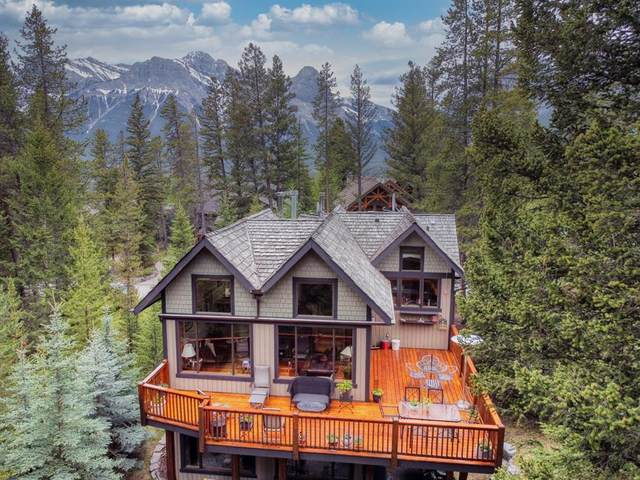 27 Blue Grouse Ridge, Canmore, AB T1W 1L5 (#A1089011) :: Canmore & Banff