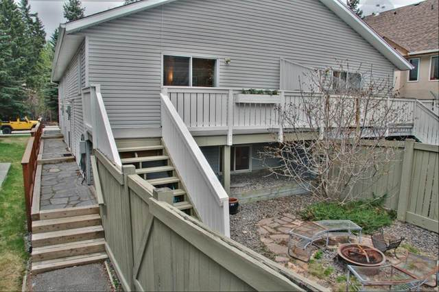 614 3rd Street #4, Canmore, AB T1W 2J5 (#A1110456) :: Calgary Homefinders