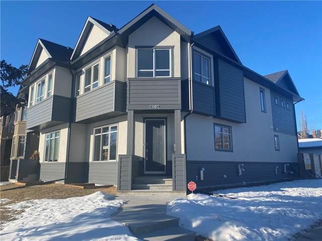 2102 1 Avenue NW, Calgary, AB T2N 0B5 (#C4279837) :: Redline Real Estate Group Inc