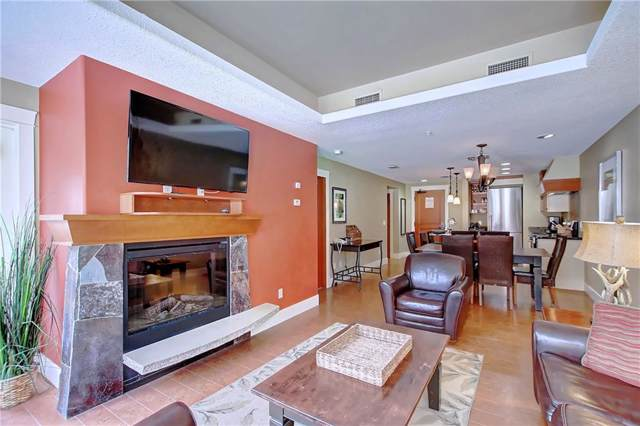 173 Kananaskis Way A122, Canmore, AB T1W 0A3 (#C4281264) :: Redline Real Estate Group Inc