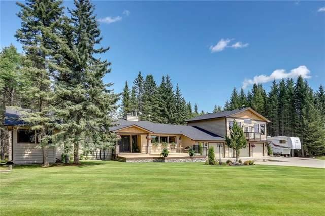 44 Mountain Lion Drive, Bragg Creek, AB T0L 0K0 (#C4286144) :: Canmore & Banff