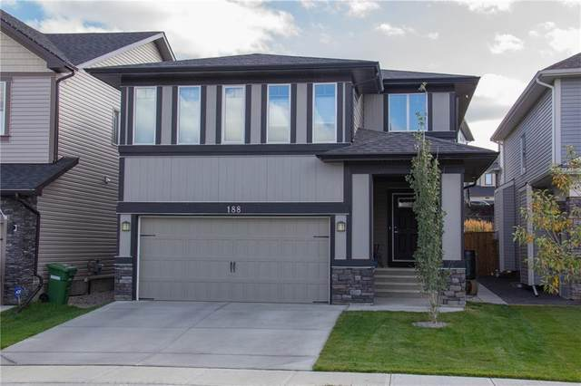 188 Hillcrest Drive SW, Airdrie, AB T4B 4B1 (#C4294727) :: Calgary Homefinders