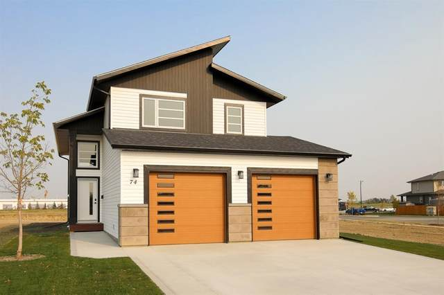 74 Parlby Crescent, Lacombe, AB T4L 1A8 (#A1002677) :: Canmore & Banff