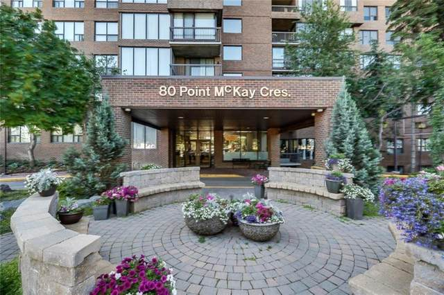80 Point Mckay Crescent NW #408, Calgary, AB T3B 4W4 (#A1023415) :: Redline Real Estate Group Inc