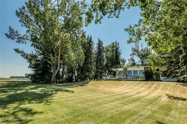 64047 198 Avenue W, Rural Foothills County, AB T1S 2W3 (#C4217670) :: The Cliff Stevenson Group