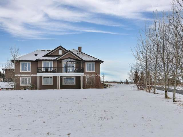 210240 90 Street W, Rural Foothills County, AB T2J 5G5 (#C4255223) :: Virtu Real Estate