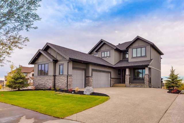 141 Waters Edge Drive, Heritage Pointe, AB T1S 4K6 (#C4291050) :: Canmore & Banff