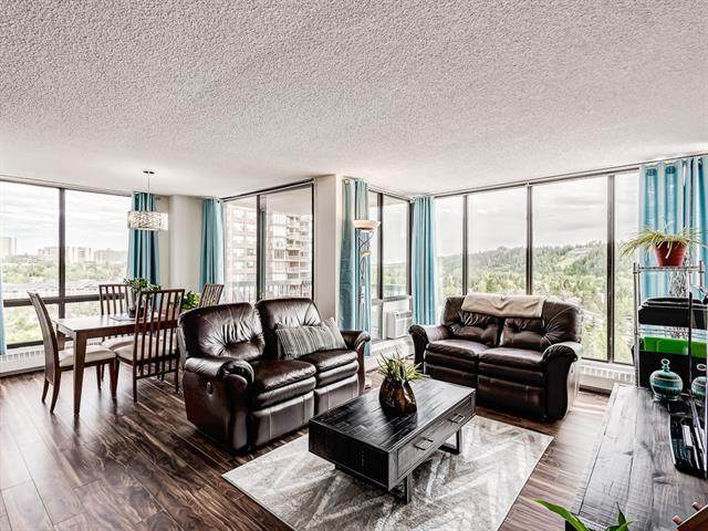 80 Point Mckay Crescent NW #1004, Calgary, AB T3B 4W4 (#A1020947) :: Redline Real Estate Group Inc