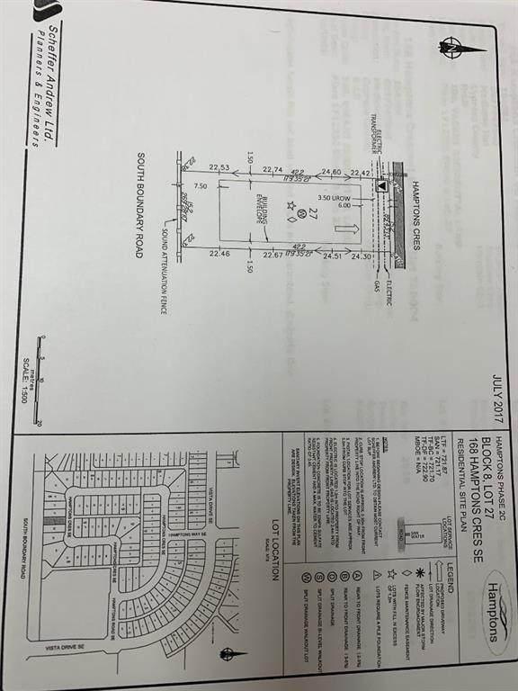168 Hamptons Crescent SE, Medicine Hat, AB T1B 0P4 (#A1022755) :: Team J Realtors