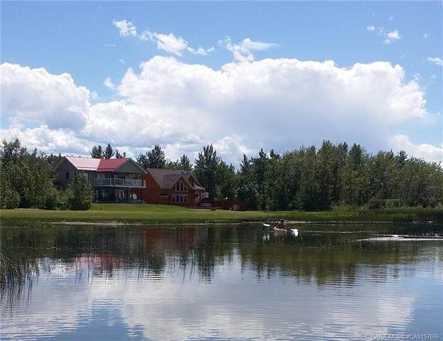 40 Sunset Lane, Rural Stettler County, AB T0C 2L0 (#A1028351) :: Canmore & Banff