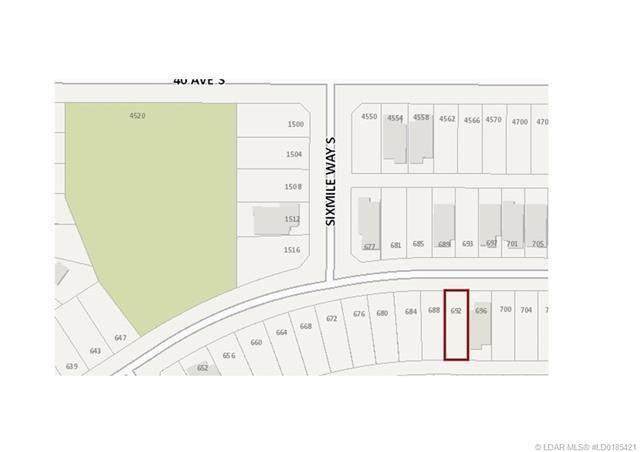 692 Sixmile Crescent S, Lethbridge, AB T1K 6Z9 (#A1040713) :: Canmore & Banff