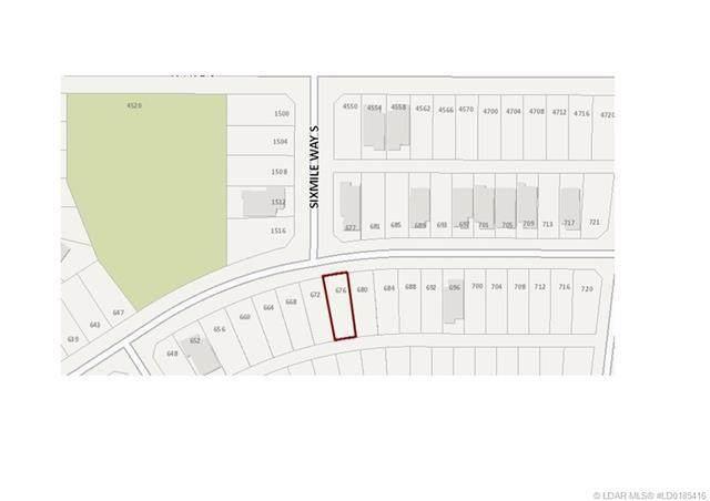 676 Sixmile Crescent S, Lethbridge, AB T1K 6Z9 (#A1040720) :: Redline Real Estate Group Inc