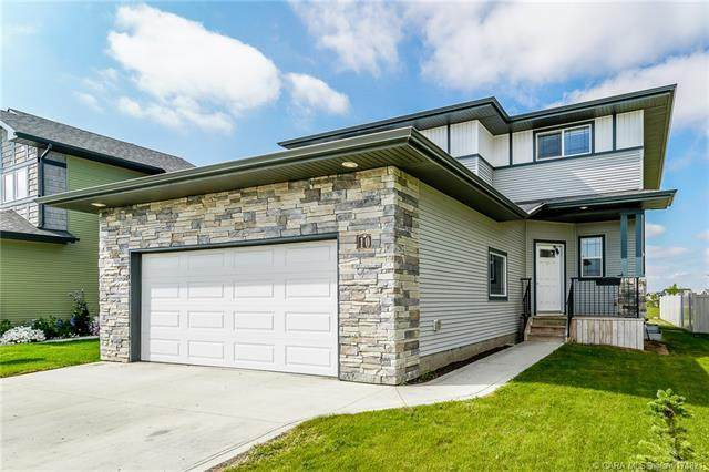 10 Thompson Crescent, Red Deer, AB T4P 0R9 (#A1041292) :: Canmore & Banff