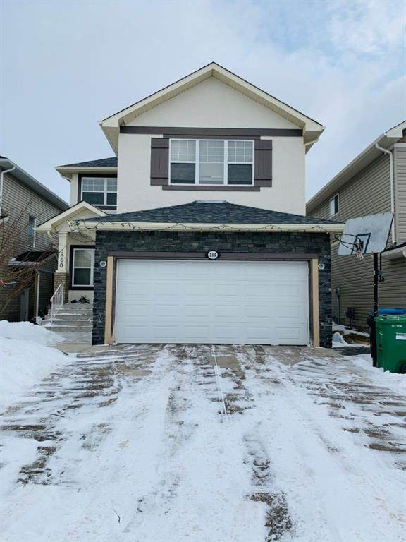 260 Saddlecrest Way NE, Calgary, AB T3J 5N3 (#A1043371) :: Canmore & Banff