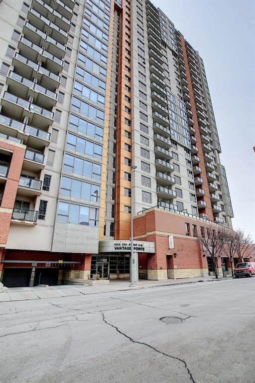 1053 10 Street SW #1703, Calgary, AB T2R 1S6 (#A1050879) :: The Cliff Stevenson Group