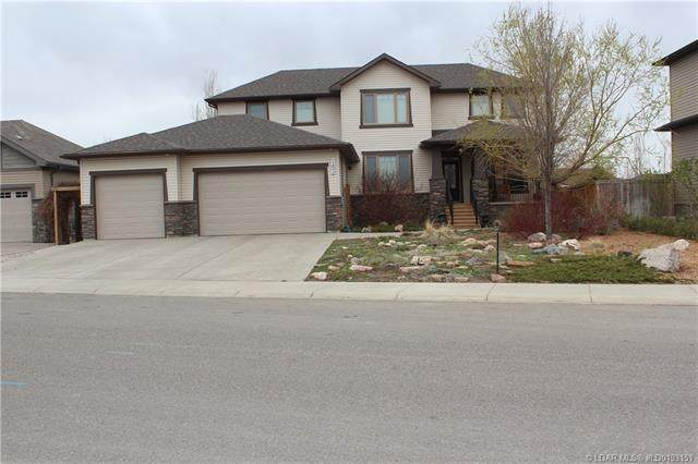 143 Canyoncrest Point W, Lethbridge, AB T1K 5C6 (#A1071457) :: Calgary Homefinders