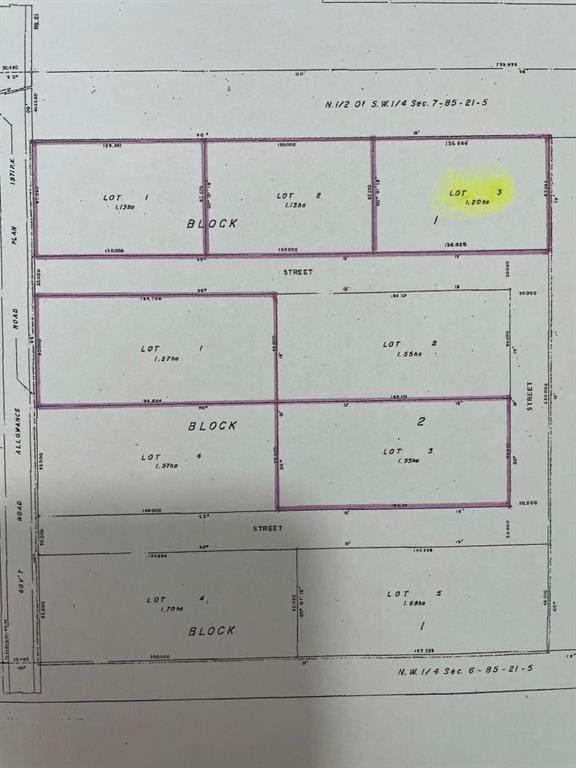 Lot 3 Block 1 Range Road 220, Rural Northern Lights M.D., AB T0H 3B0 (#A1072298) :: Calgary Homefinders