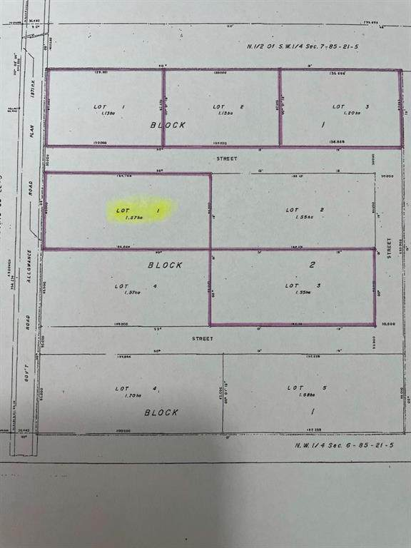Lot 1, Block 2 Range Road 220, Rural Northern Lights M.D., AB T0H 3B0 (#A1072302) :: Calgary Homefinders