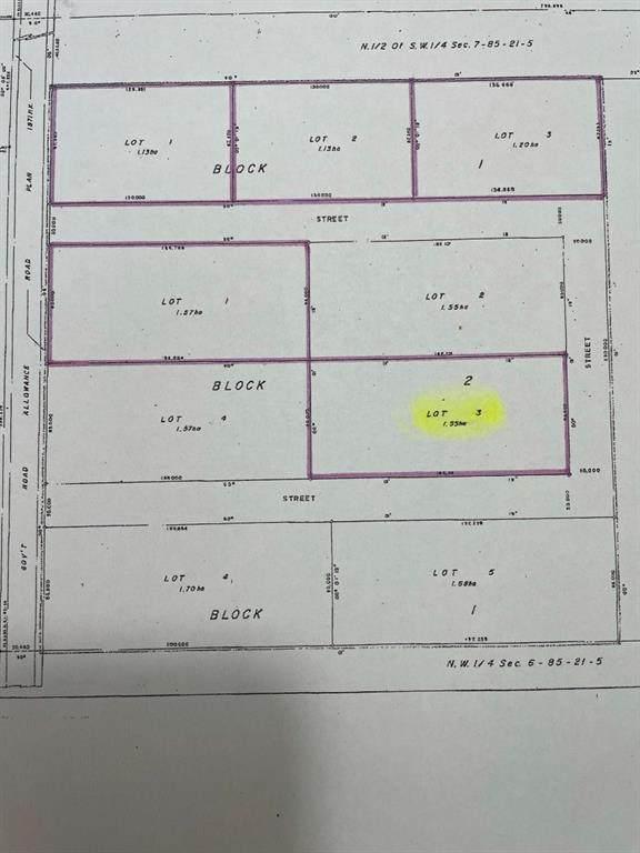 Lot 3, Block 2 Range Road 220, Rural Northern Lights M.D., AB T0H 3B0 (#A1072307) :: Calgary Homefinders