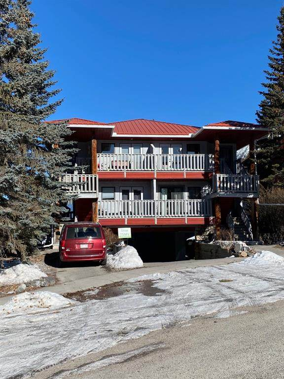 10 Blackrock Crescent #5, Canmore, AB T1W 1A2 (#A1078897) :: Redline Real Estate Group Inc
