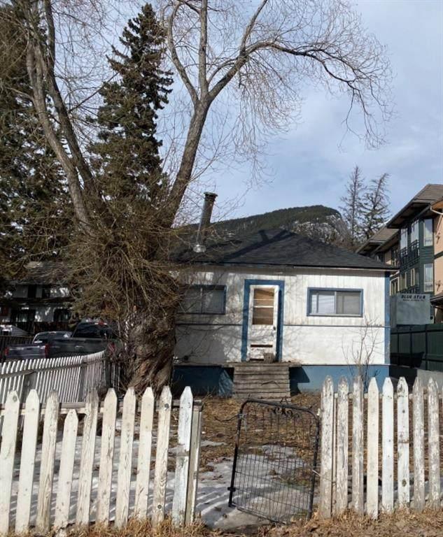 451 Banff Avenue, Banff, AB T1L 1C7 (#A1080256) :: Canmore & Banff