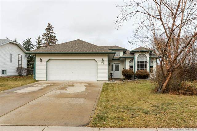 75 Hathaway Lane, Lacombe, AB T4L 1T4 (#A1111711) :: Calgary Homefinders