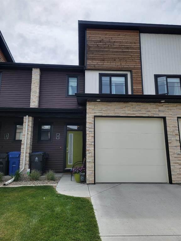 418 Highlands Boulevard W #4, Lethbridge, AB T1J 4W8 (#A1113034) :: Calgary Homefinders