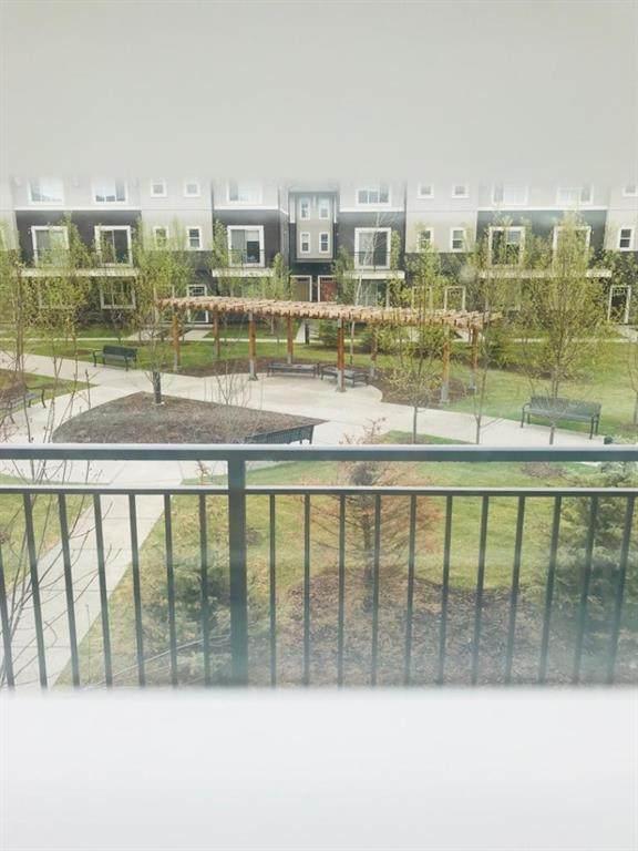 30 Cornerstone Manor N #420, Calgary, AB T3N 1E6 (#A1119657) :: Calgary Homefinders