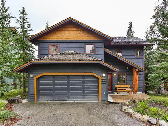 117 Stone Creek Place, Canmore, AB T1W 3A4 (#AW50809) :: Canmore & Banff