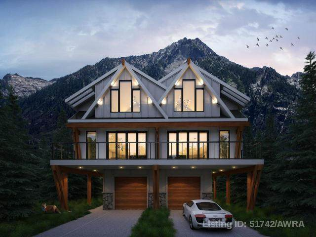805 5TH Street 4SW, Canmore, AB T1W 2G1 (#AW51742) :: Canmore & Banff