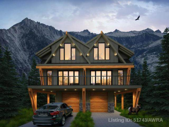 810 3RD Street 4NE, Canmore, AB T1W 2G1 (#AW51743) :: Canmore & Banff