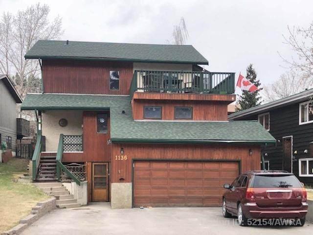 1136 Cabin Creek Drive, Jasper, AB T0E 1E0 (#AW52154) :: Canmore & Banff