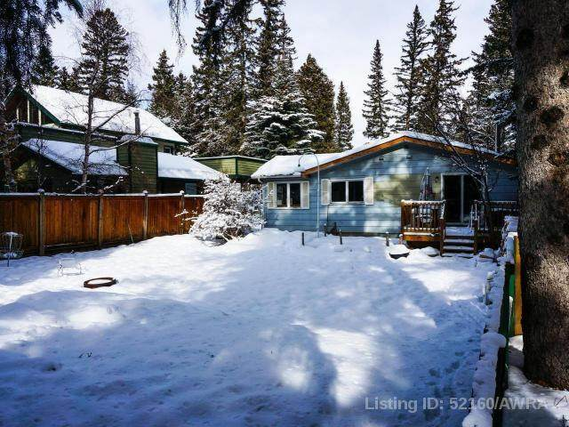 802 2A STREET, Canmore, AB T1W 2K8 (#AW52160) :: Canmore & Banff
