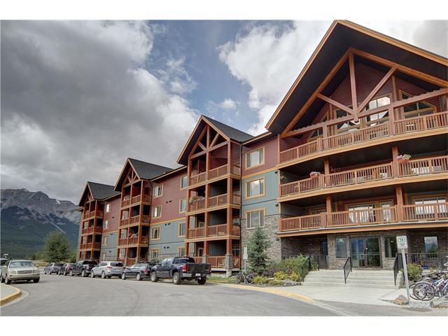 300 Palliser Lane #101, Canmore, AB T1W 0H5 (#C4000594) :: Canmore & Banff