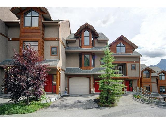 300 Eagle Terrace #35, Canmore, AB T1W 3E5 (#C4091657) :: Canmore & Banff