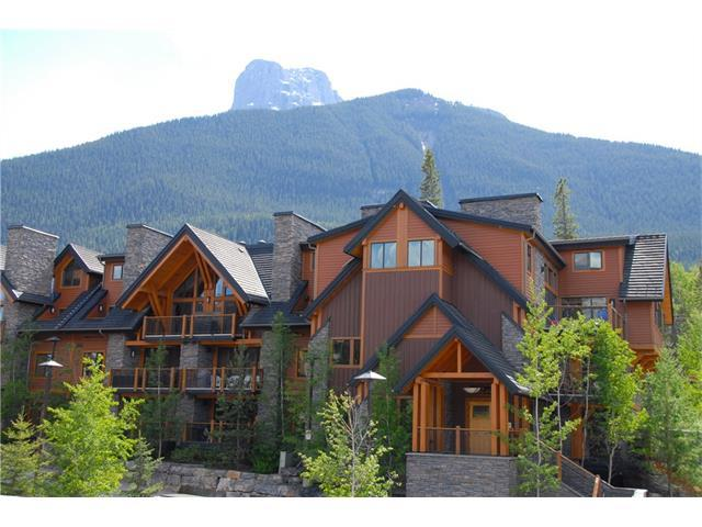 101A Stewart Creek Landing #1306, Canmore, AB T1W 0E3 (#C4119935) :: Canmore & Banff