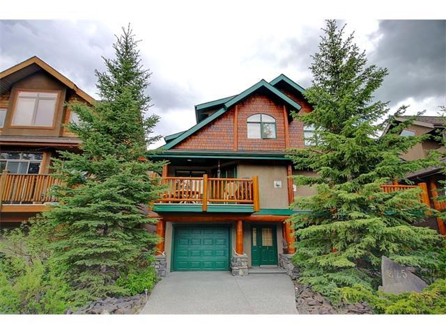 825 4th Street #1, Canmore, AB T1W 2G9 (#C4121487) :: Canmore & Banff
