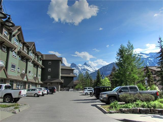 180 Kananaskis Way #109, Canmore, AB T1W 3C6 (#C4122333) :: Canmore & Banff