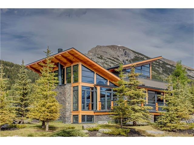 800 Silvertip Heights, Canmore, AB T1W 3K9 (#C4122566) :: Canmore & Banff