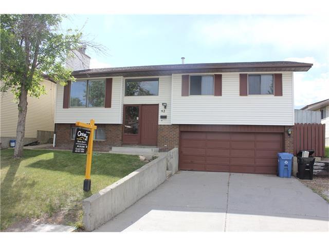 43 Castlefall Road NE, Calgary, AB T3J 1M8 (#C4123954) :: Canmore & Banff