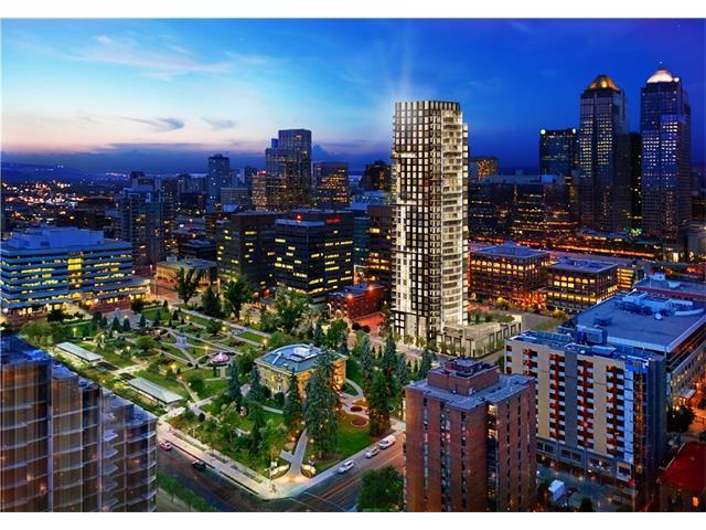 310 12 Avenue SW #1607, Calgary, AB T2R 0C7 (#C4124080) :: The Cliff Stevenson Group