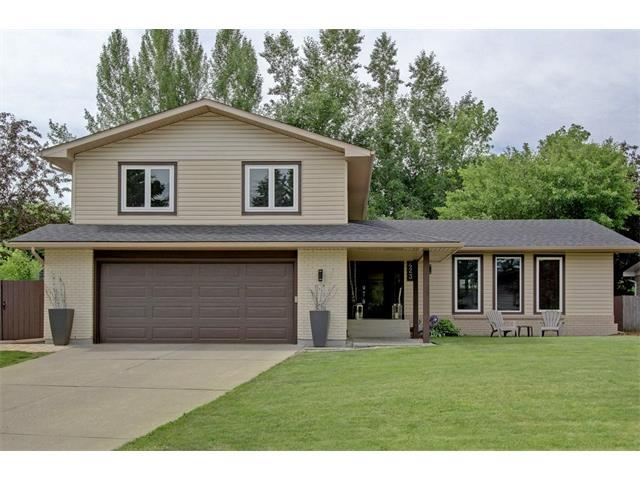 423 Wilverside Way SE, Calgary, AB T2J 1Z6 (#C4124554) :: Tonkinson Real Estate Team
