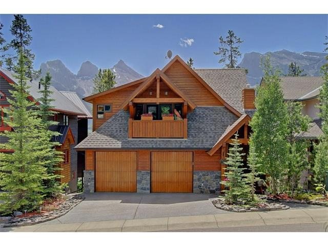 313 Eagle Heights, Canmore, AB T1W 3C9 (#C4125914) :: Canmore & Banff
