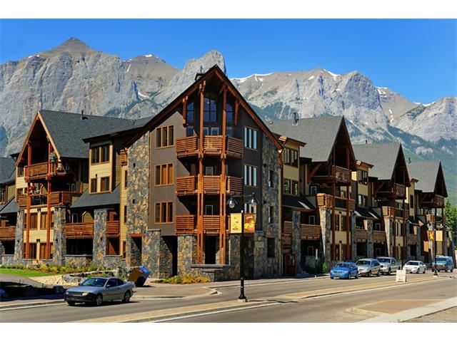 379 Spring Creek Drive #304, Canmore, AB T1W 0G8 (#C4130583) :: Canmore & Banff
