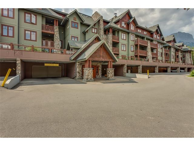 150 Crossbow Place #329, Canmore, AB T1W 3H5 (#C4130835) :: Canmore & Banff