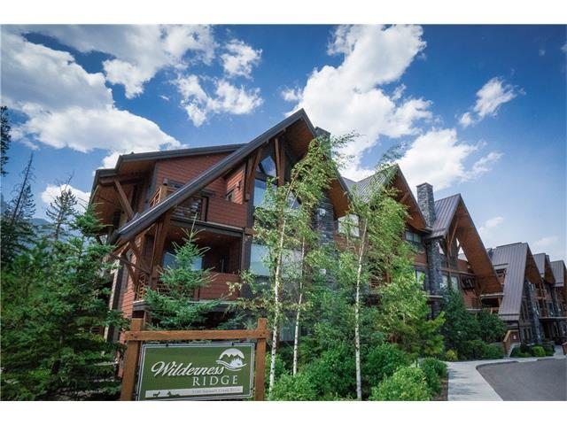 2100A Stewart Creek Drive #102, Canmore, AB T1W 0G3 (#C4130889) :: Canmore & Banff