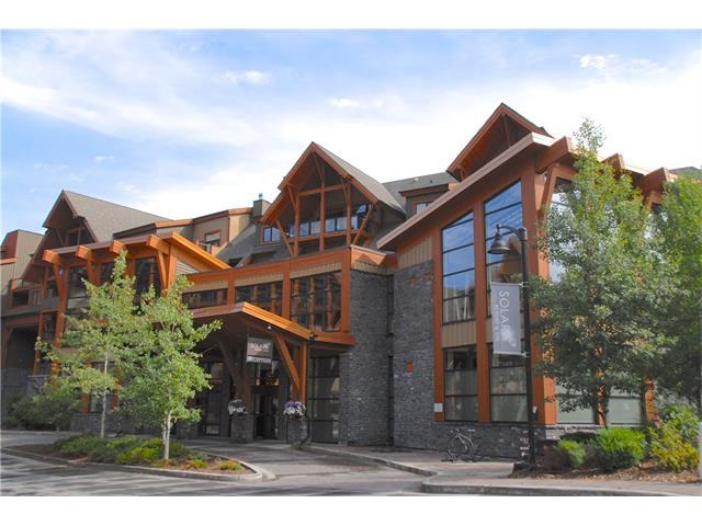 191 Kananaskis Way #203, Canmore, AB T1W 0A3 (#C4132750) :: Canmore & Banff